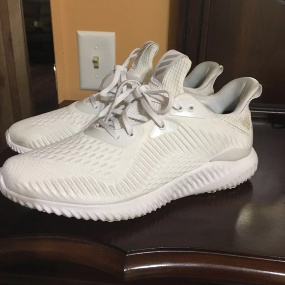 new concept ea803 68d64 adidas Shoes - Adidas Alpha Bounce Triple White. adidas Other - Adidas  Alpha Bounce Triple White